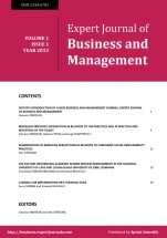Expert Journal of Business and Management