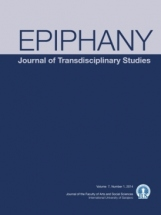 Epiphany - Journal of Transdisciplinary Studies