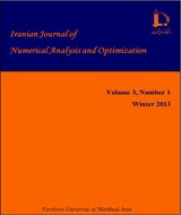 Iranian Journal of Numerical Analysis and Optimization