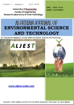 algerian journal of environmental science and technology