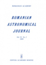 Romanian Astronomical Journal