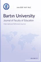Bartin University Journal of Faculty of Education