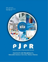Pakistan Journal of Pharmaceutical Research