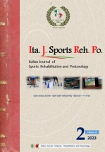 Italian Journal of Sports rehabilitation and Posturology