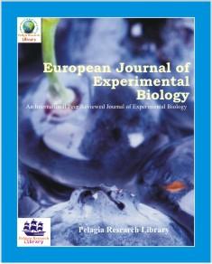 Journal: European Journal of Experimental Biology