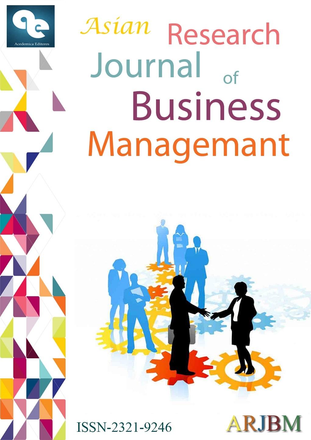 Journal: Asian Research Journal of Business Management