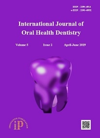 Journal: International Journal of Oral Health Dentistry